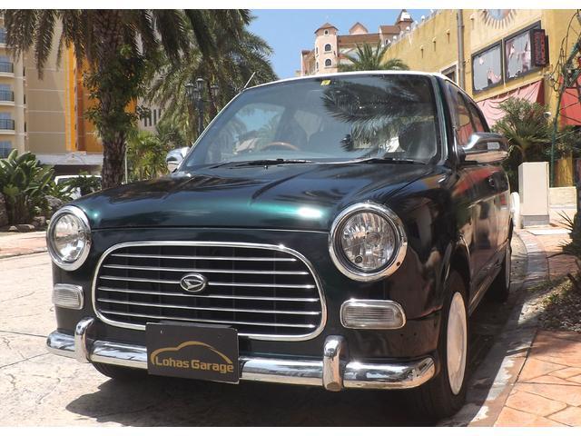 沖縄の中古車 ダイハツ ミラジーノ 車両価格 30万円 リ済込 2001(平成13)年 7.0万km LグリーンM