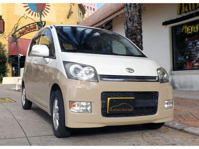沖縄の中古車 ダイハツ ムーヴ 車両価格 26万円 リ済込 2008(平成20)年 10.7万km ホワイト