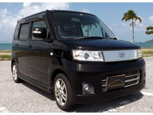 沖縄の中古車 スズキ ワゴンR 車両価格 24万円 リ済込 2007(平成19)年 4.5万km ブラック
