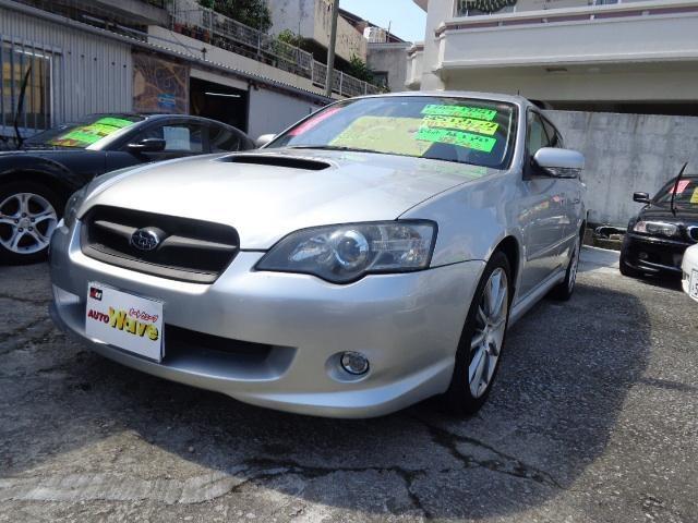 沖縄の中古車 スバル レガシィツーリングワゴン 車両価格 39万円 リ済込 平成16年 12.6万km シルバーM