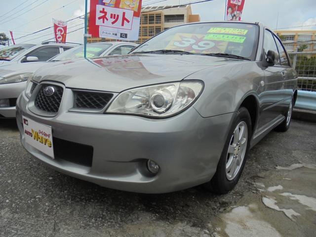 沖縄の中古車 スバル インプレッサスポーツワゴン 車両価格 39万円 リ済込 2007(平成19)後 8.0万km シルバーM
