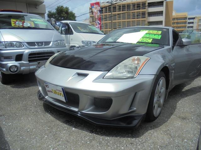 沖縄の中古車 日産 フェアレディZ 車両価格 59万円 リ済込 平成14年 8.2万km ガンM