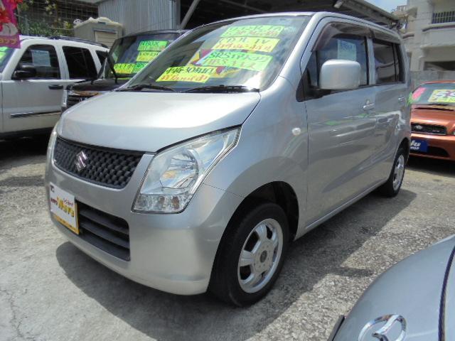 沖縄の中古車 スズキ ワゴンR 車両価格 32万円 リ済込 2009(平成21)年 11.3万km シルバーM