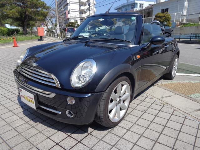 沖縄県の中古車ならMINI クーパー コンバーチブル・レザーシート