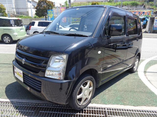 沖縄の中古車 スズキ ワゴンR 車両価格 32万円 リ済込 平成20年 8.8万km ブラックM