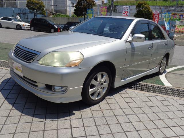 沖縄の中古車 トヨタ マークII 車両価格 39万円 リ済込 平成13年 14.3万km シルバーM