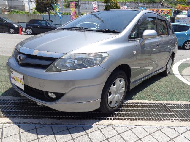 沖縄の中古車 ホンダ エアウェイブ 車両価格 45万円 リ済込 平成19年 8.8万km シルバーM