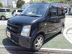 沖縄の中古車 スズキ ワゴンR 車両価格 32万円 リ済込 平成20年 8.8万K ブラックM