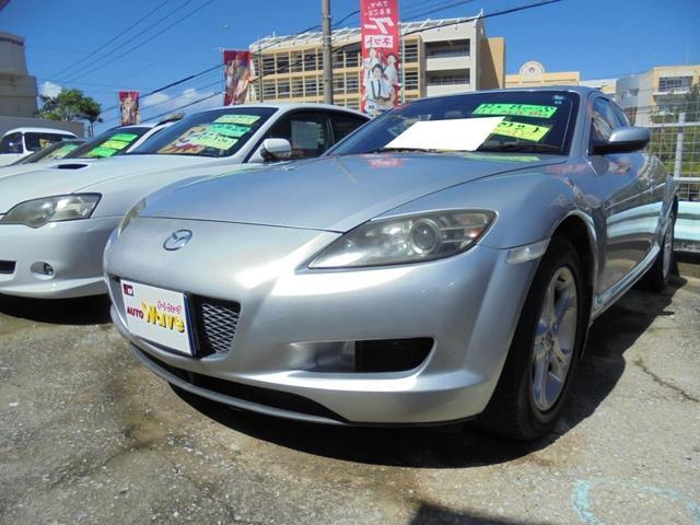 沖縄の中古車 マツダ RX-8 車両価格 39万円 リ済込 2007(平成19)年 8.3万km シルバーM