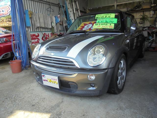 沖縄県宜野湾市の中古車ならMINI JonncooperWORKSスーパーチャージャー6速