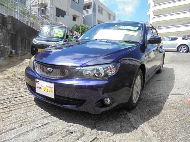 沖縄の中古車 スバル インプレッサ 車両価格 49万円 リ済込 2009(平成21)年 9.9万km パープルM