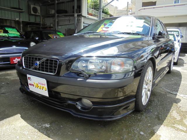 沖縄の中古車 ボルボ ボルボ S60 車両価格 36万円 リ済込 2003(平成15)年 12.2万km ブラックM
