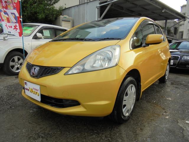 沖縄の中古車 ホンダ フィット 車両価格 45万円 リ済込 2009(平成21)年 4.5万km イエロー