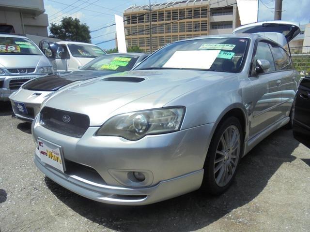 沖縄の中古車 スバル レガシィツーリングワゴン 車両価格 35万円 リ済込 2004(平成16)年 14.5万km シルバーM