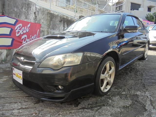 沖縄県の中古車ならレガシィB4 2.0GTスB5速4WDターボ
