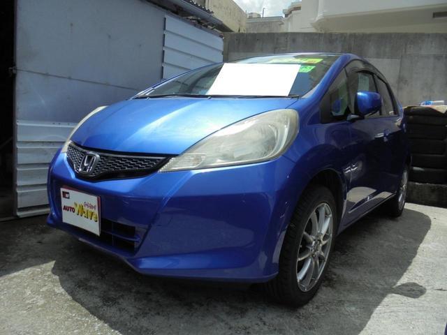 沖縄の中古車 ホンダ フィット 車両価格 39万円 リ済込 2011(平成23)年 10.4万km ブルーM