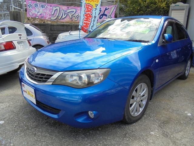 沖縄県宜野湾市の中古車ならインプレッサ 1.5iエアロスポーツ5速