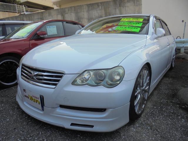 沖縄県の中古車ならマークX 250G Fパッケージ改