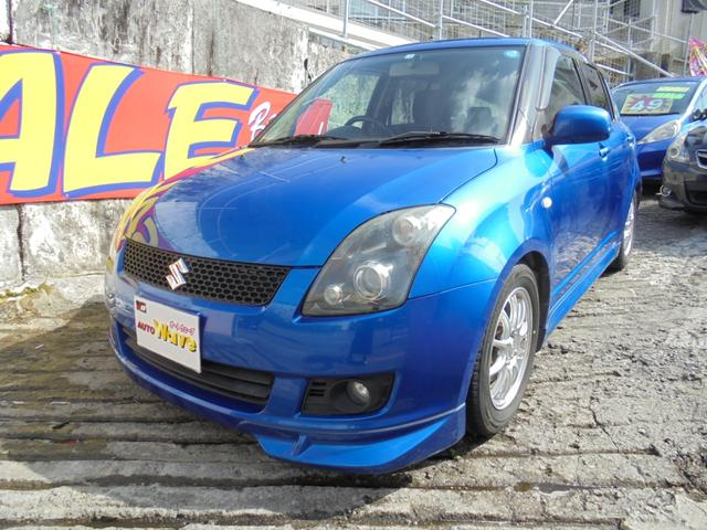沖縄県宜野湾市の中古車ならスイフト XGエアロスポーツ5速