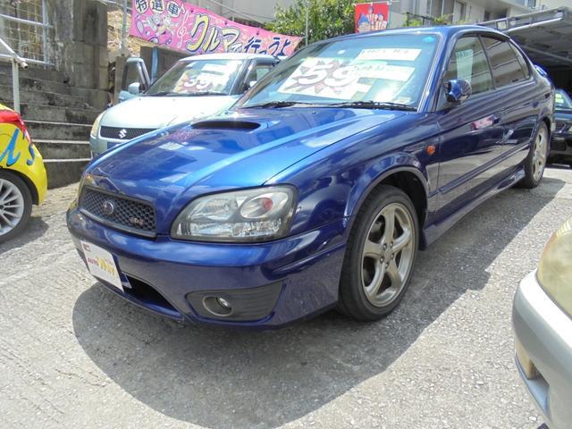 沖縄県の中古車ならレガシィB4 RSKツインターボフルタイム4WD5速