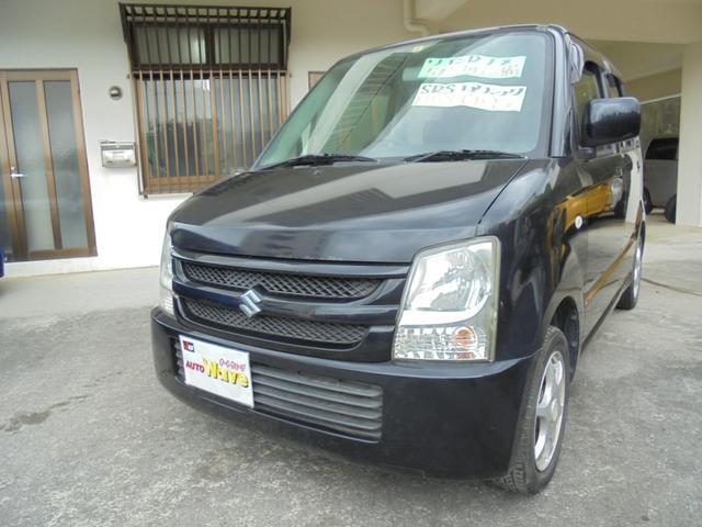 沖縄の中古車 スズキ ワゴンR 車両価格 29万円 リ済込 2008(平成20)年 8.8万km ブラック