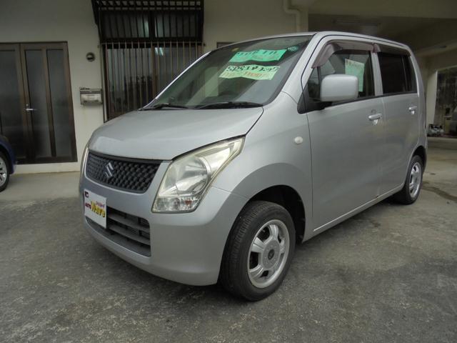 沖縄の中古車 スズキ ワゴンR 車両価格 29万円 リ済込 2009(平成21)年 11.3万km シルバー