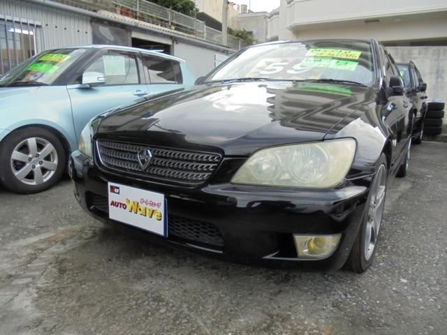 沖縄県の中古車ならアルテッツァ RS200 リミテッドII6速