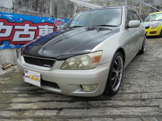 沖縄県の中古車ならアルテッツァ RS200 6速
