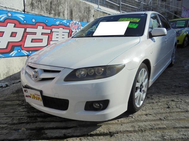 沖縄県宜野湾市の中古車ならアテンザスポーツ 23Z 6速エアロスポーツ