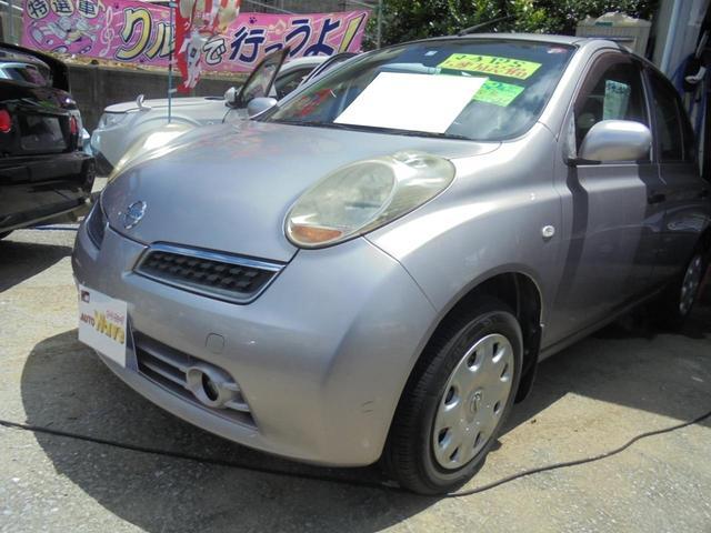 沖縄の中古車 日産 マーチ 車両価格 29万円 リ済込 2009(平成21)年 5.3万km ピンク