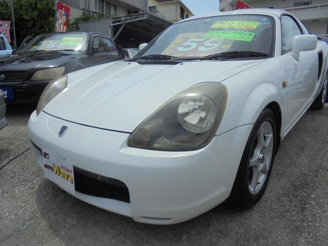 「トヨタ」「MR-S」「オープンカー」「沖縄県」「オートウェーブ」の中古車