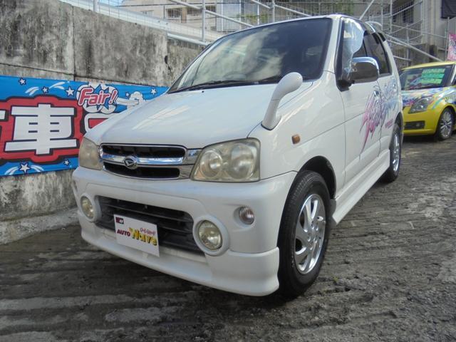 沖縄県の中古車ならテリオスキッド エアロダウンカスタムX 5速ターボ