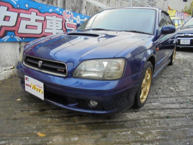 沖縄の中古車 スバル レガシィB4 車両価格 49万円 リ済込 2000(平成12)年 13.1万km ブルーM