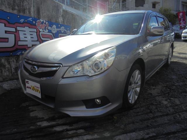 沖縄の中古車 スバル レガシィツーリングワゴン 車両価格 49万円 リ済込 2010(平成22)年 11.7万km グレーM