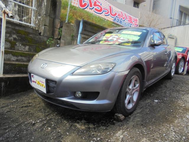 沖縄の中古車 マツダ RX-8 車両価格 55万円 リ済込 2005(平成17)年 10.3万km シルバーM