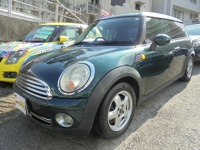 沖縄の中古車 MINI MINI 車両価格 55万円 リ済込 2008(平成20)年 14.0万km DグリーンM