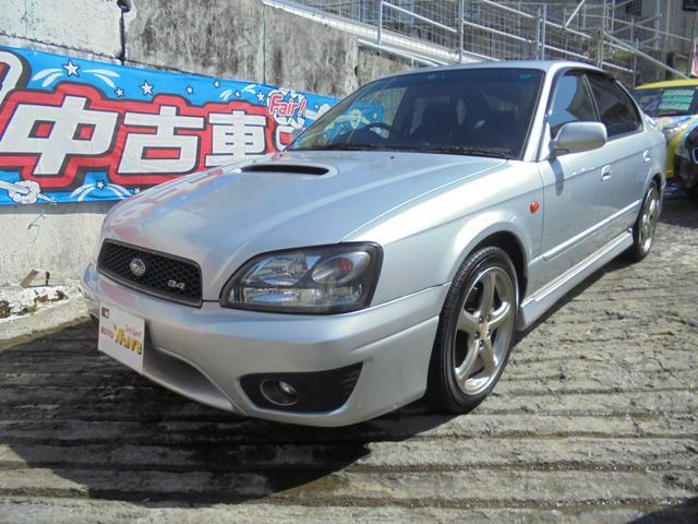 沖縄の中古車 スバル レガシィB4 車両価格 49万円 リ済込 2002(平成14)年 12.5万km シルバーM