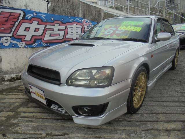 沖縄の中古車 スバル レガシィB4 車両価格 59万円 リ済込 2001(平成13)年 12.5万km シルバーM