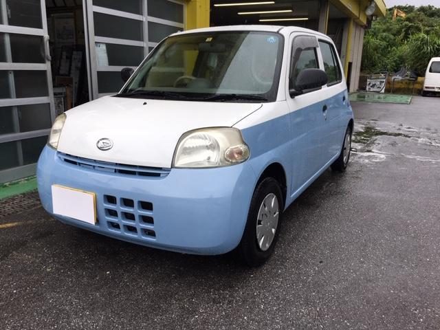沖縄の中古車 ダイハツ エッセ 車両価格 19万円 リ済込 2007(平成19)年 11.4万km ホワイトII