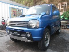 沖縄の中古車 スズキ ジムニー 車両価格 29万円 リ済込 平成14年 14.7万K ブルーM