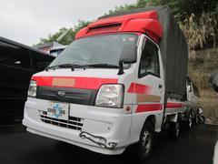 サンバートラック赤帽スーパーチャージャー特装ベース キーレス MT5速