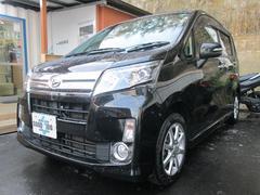 沖縄の中古車 ダイハツ ムーヴ 車両価格 63万円 リ済込 平成25年 5.5万K ブラックM