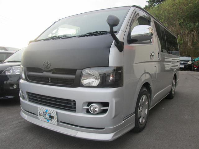 沖縄の中古車 トヨタ レジアスエースバン 車両価格 118万円 リ済込 平成18年 14.7万km シルバーM
