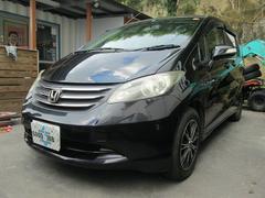 沖縄の中古車 ホンダ フリード 車両価格 25万円 リ済込 平成20年 21.8万K ブラックM
