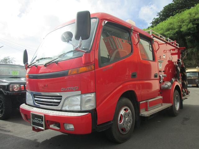 沖縄の中古車 日野 デュトロ 車両価格 ASK リ済込 平成14年 0.5万km 色替レッド