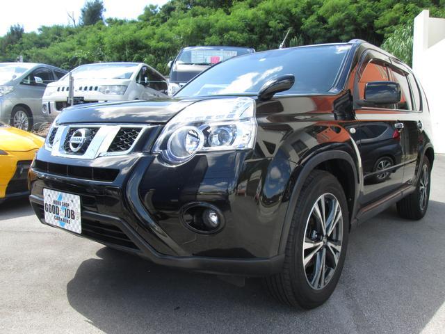 沖縄の中古車 日産 エクストレイル 車両価格 82万円 リ済込 2010(平成22)年 17.6万km ダイヤモンドブラックP