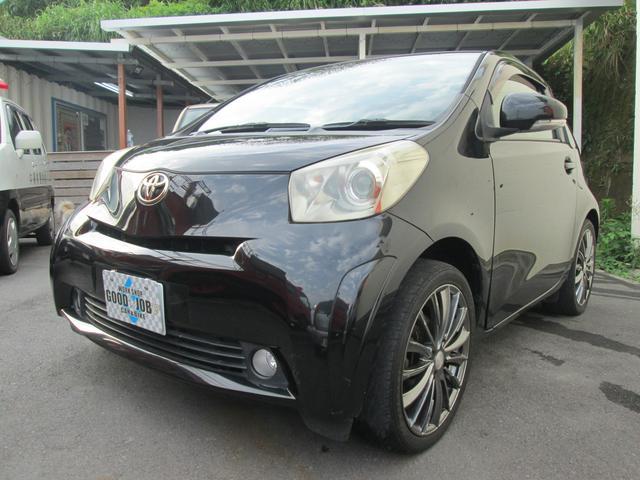 沖縄の中古車 トヨタ iQ 車両価格 39万円 リ済込 2008(平成20)年 8.5万km 209ブラックM