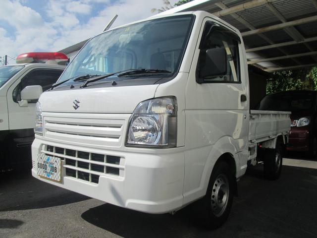 沖縄県の中古車ならキャリイトラック KCエアコン・パワステ マニュアル5速 エアバック 2WD