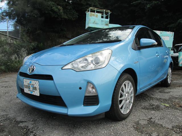 沖縄県豊見城市の中古車ならアクア S ハイブリッド プッシュスタート バックカメラ ETC