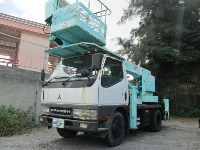 三菱ふそう 高所作業車 アイチ製12.5m 5.3ディーゼル MT5速
